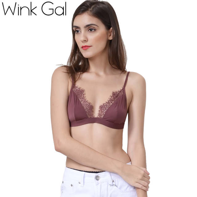 90fa76eb03bb1 placeholder Wink Gal 2018 New Sexy Embroidery Lace Bra Bralette Hot Woman  Intimate Underwear Push Up Lingerie