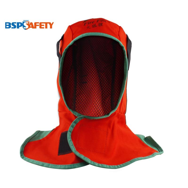 FR Cotton Welding Hats Safety Cap Welder Helmet Blue Hood Flame Retardant Orange Welding Cap