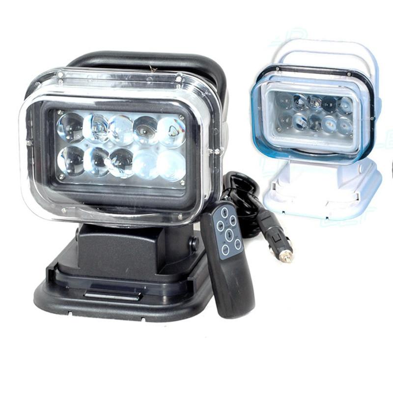 IP67 10-30V Fjärrkontroll LED Söklampa 7 tum 50W Spotlight LED - Bilbelysning - Foto 3