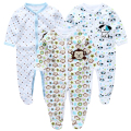 3Pcs/lot Baby Rompers Clothing Long Sleeves 100% Cotton Cartoon Embroidery Newborn Next Body Baby Girls Boys Clothes CP-2