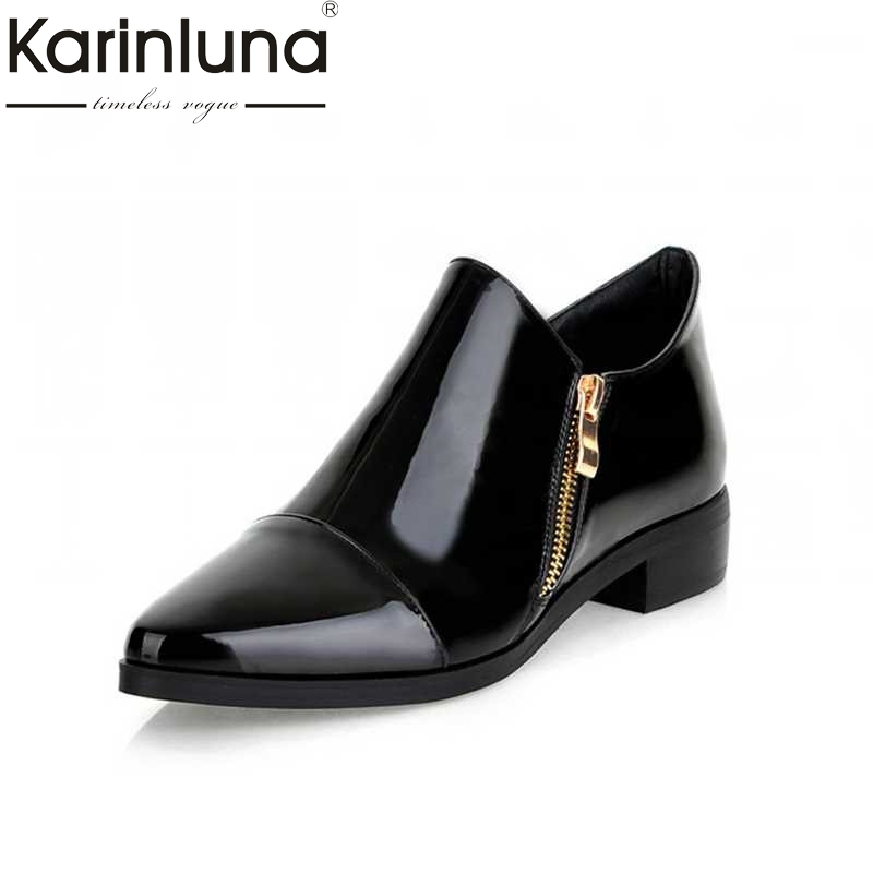 big size 34-43 Sexy New Arrival Woman Sexy Square low heels Sexy Casual Spring Autumn Pointed Toe Dress Shoes women 2017 new spring autumn big size 11 12 dress sweet wedges women shoes pointed toe woman ladies womens