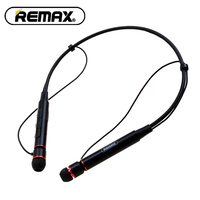 New Remax RB S6 Neckband Wireless Bluetooth Sports Earphones Bass Stereo Music Earphones Support Multi Point