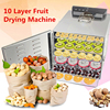 New Temperature Time Control Stainless Steel Fruit Dehydrator Machine Dryer For Fruits And Vegetables Food Processor