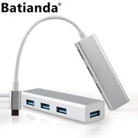 4in1 USB Type C HUB Adapter USB Type C 3 1 Port Into 4 USB 3