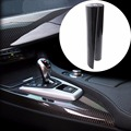 "1PC Car 5D Ultra Shiny Glossy Black Carbon Fiber Vinyl Graphics Decals 12""x60"" Wrap Sticker Decal"
