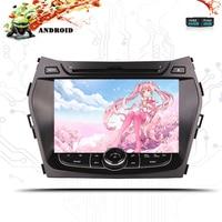 2 DIN Octa Cores 4G+64G Android 9.0 Car DVD Player For Hyundai IX45 SANTA FE 2013 2014 2015 2016 2018 GPS Navigation Radio Audio