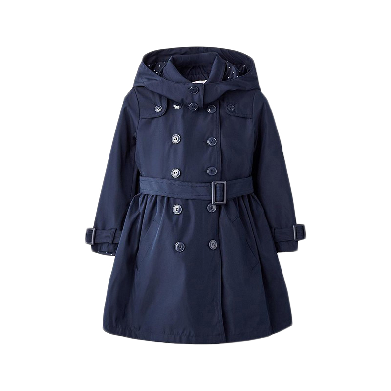 Jackets & Coats MODIS M182K00103 for girls kids clothes children clothes TmallFS girls outfits for kids jeans clothes sets fall child denim jackets
