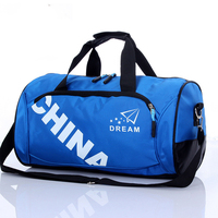 Nylon Outdoor Male Yoga Duffel Bag Multifunction Portable Sports Gym Shoulder Bag With Shoes Compartment Backpack
