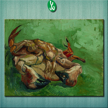 A crab on its back 1888 Vincent Van Gogh  Abstract Oil Painting Canvas Wall Art Frameless Living Room Home Decorations unframed