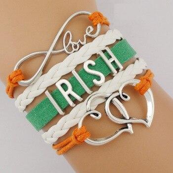 Infinity Love Irish Ireland Claddagh Celtics