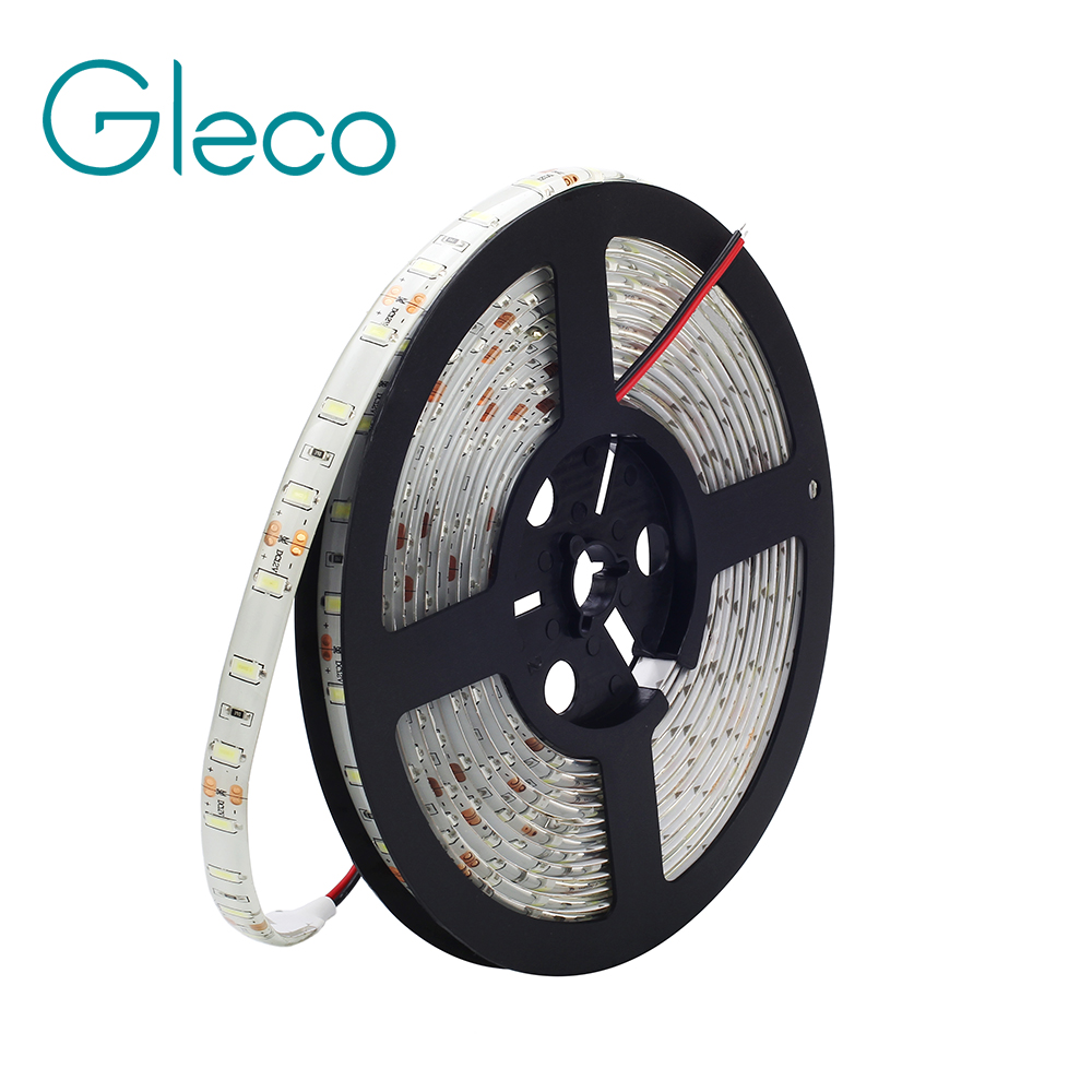 DC12V LED Strip 5630 SMD 60LEDs/m 5M/Lot Flexible strip Light fita de led IP65 Waterproof / IP20 Non waterproof wholesale 100sets lot led strip set smd 5630 60leds m flexible led light power adapter best quality