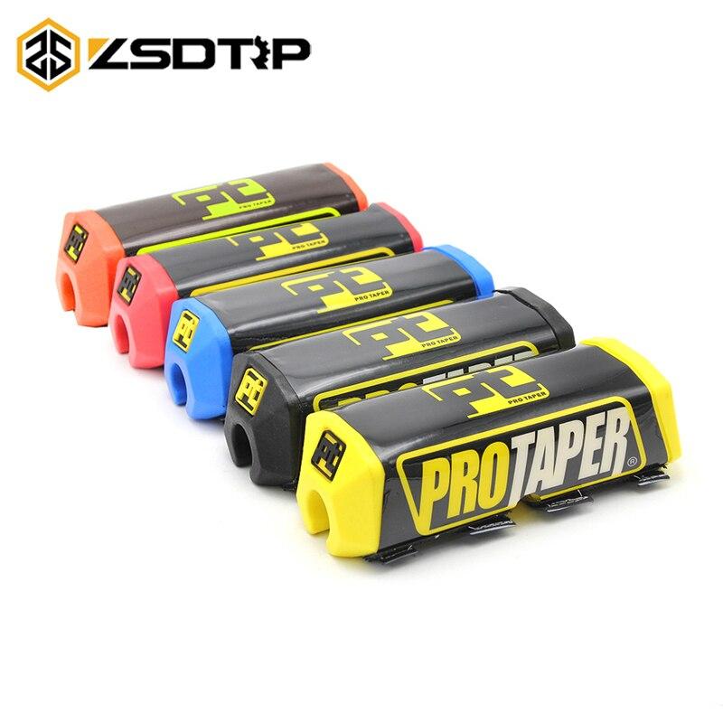 ZSDTRP 26mm Handlebar Squre Chest Protector Pads Motorcycle Cross Dirt Pit Bike Motocross Atv Pro Taper Fat Bar Sponge