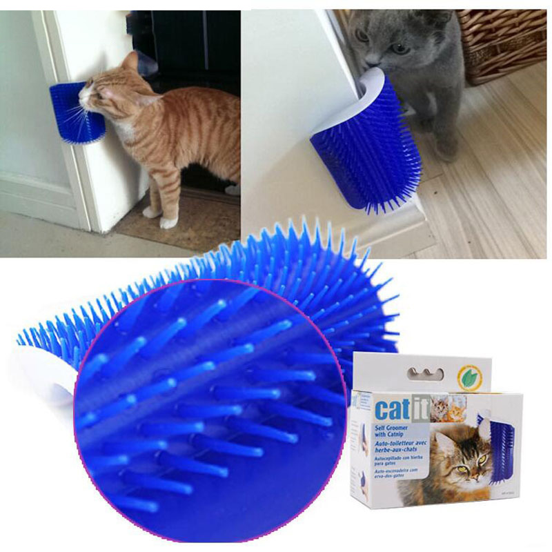 Pet Products Cat Massage Device Self Groomer 3color  Cat Massager Wipes Artifact For Cat Brush Comb Pet Toy Supplies