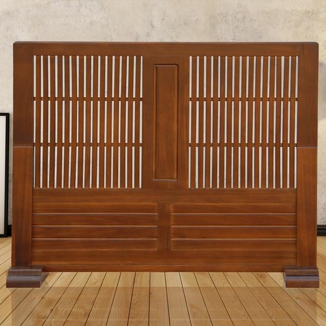 Außergewöhnliche Japanischen Bewegliche Holz Trennwand Bildschirm  Raumteiler CQ11