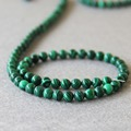 (Min Order1) 6mm Fashion New Natural Green Turkey Malachite Beads Jasper Stripe Stone Loose Beads 15inch Jewelry Making Design