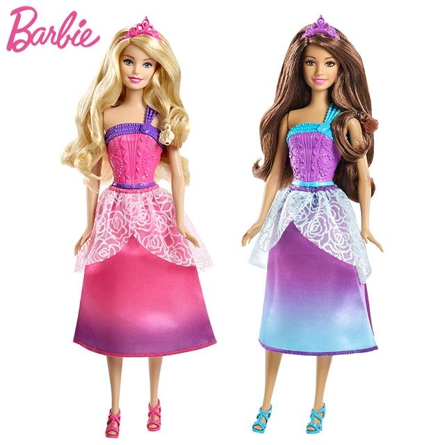 Original Barbie Puppe Lange Haar Prinzessin Puppe Amerikanische