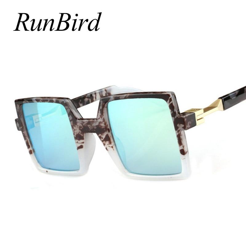 195ccb816fb6f La lente de revestimiento plana hombres Gafas de sol mujeres rectángulo  único marca diseñador vintage Sol Gafas oculos de sol 194