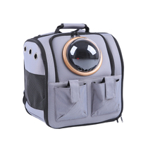 Portable Pets Backpack Dog Travel Bag For Cat Puppy Transport Space Capsule Breathable Pet Carrier Products Dual Pocket