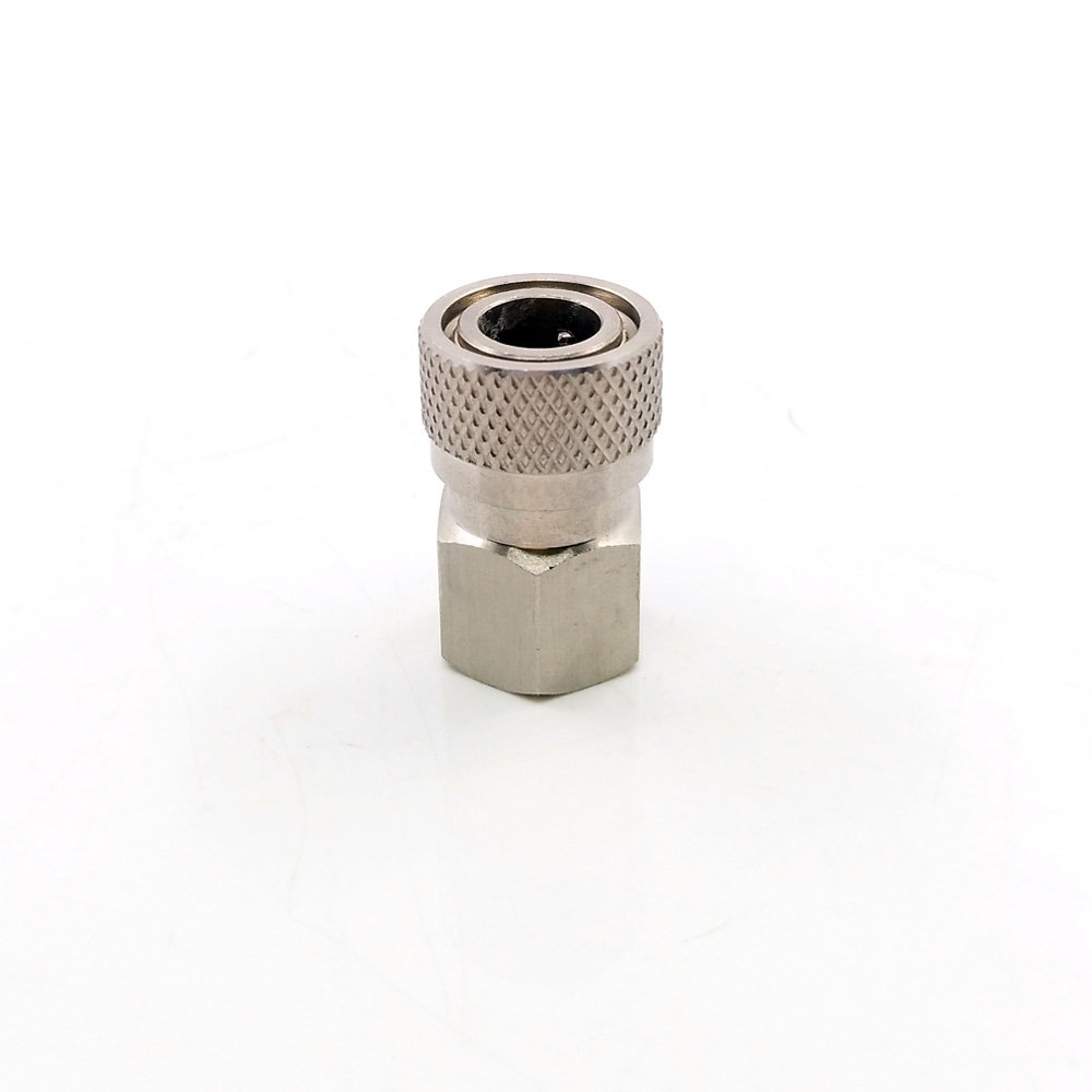 "Image 2 - Paintball PCP Quick Release Disconnect Filling Charing Hose Fitting 8mm Stainless Female Socket Connector 1/8"" NPT-in Paintball Accessories from Sports & Entertainment"