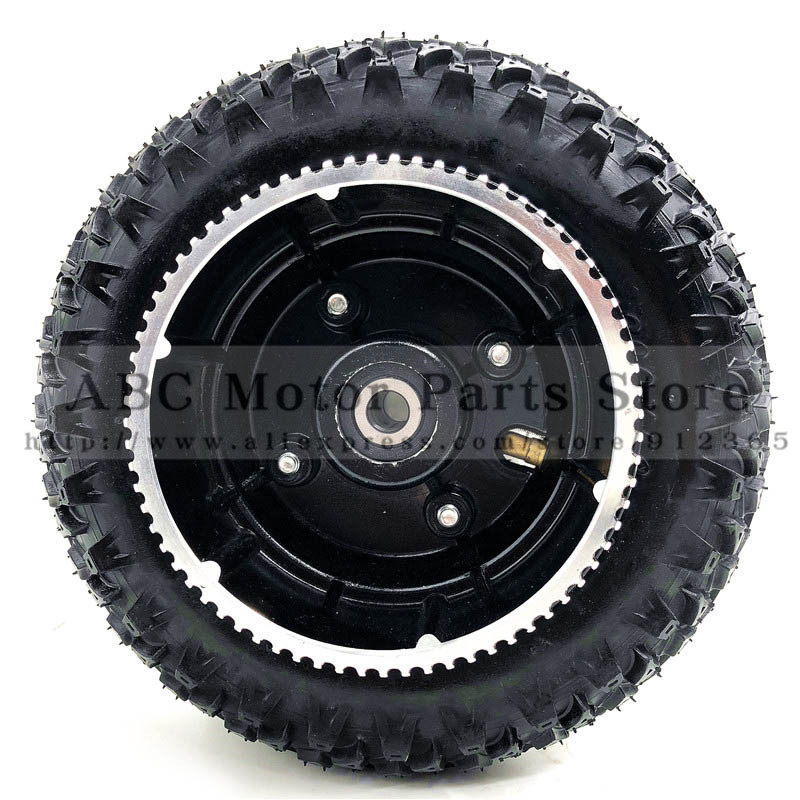 200X50 Wheels With Drive Gear 8X2 Tire and Inner Tube for Electric Scooter Wheel Chair Truck Pneumatic Trolley Cart
