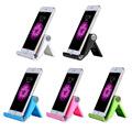 Universal Solid Color Desktop Foldable Adjustable Stand Holder for Cell Phone