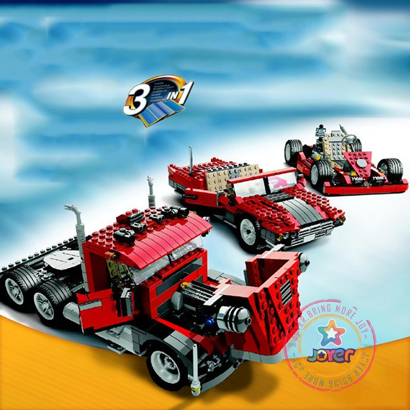 Lepin 24023 Big Rig building bricks blocks Toys for children boys Game Model Car Gift Compatible with Decool Bela 4955 lucky john croco spoon big game mission 24гр 004