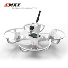 Free shipping EMAX Babyhawk 87mm Micro Brushless FPV Racing Drone Quadcopeter- PNP VERSION(China)