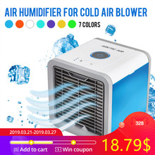 US $20.39 49% OFF|USB Mini Portable Air Conditioner Humidifier Purifier 7 Colors Light Desktop Air Cooling Fan Air Cooler Fan for Office Home-in Fans from Home Appliances on Aliexpress.com | Alibaba Group