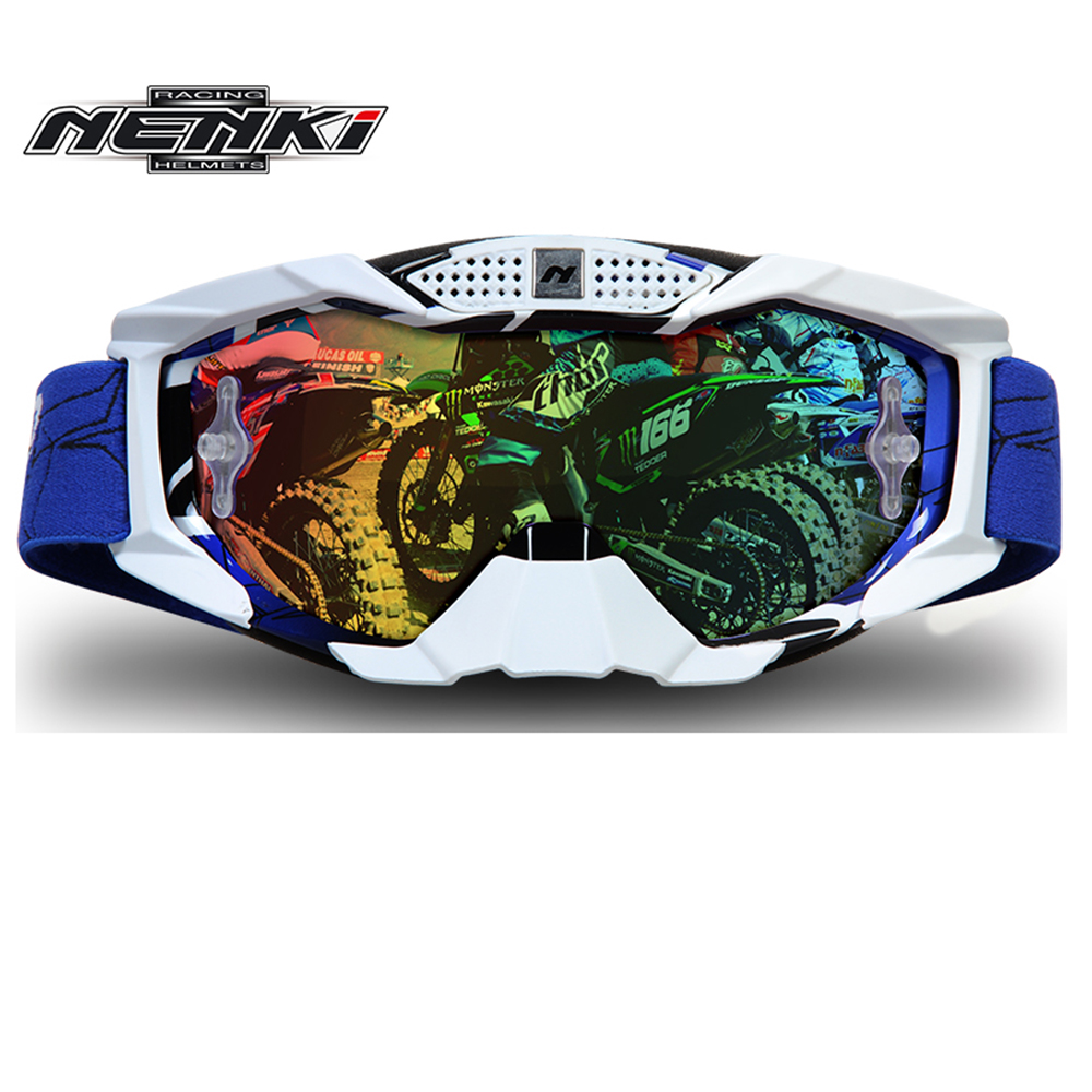 NENKI Lunettes Moto Motorcycle Glasses For Men Off Road Downhill Glasses Dirt Bike Goggle font b