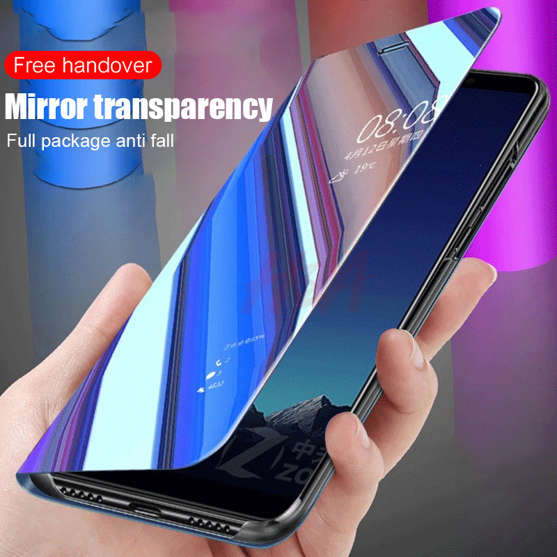 Image 5 - H&A Mirror Flip Case For Xiaomi Redmi Note 7 5 6 K20 Pro 4X 5A 6A 5 Plus S2 Cover For Mi 9T 9 8 SE A1 A2 Mix 2 Phone Case-in Flip Cases from Cellphones & Telecommunications