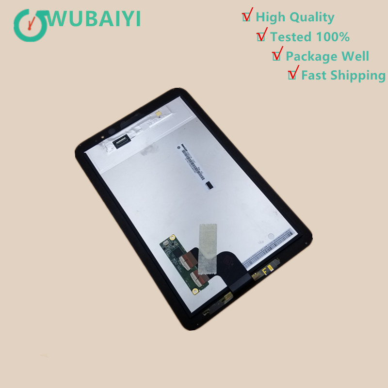 High Quality For Acer Iconia W4 820 W4-820 W4-821 Black Touch Screen Digitizer + LCD Display Panel Monitor Assembly 2016 touch panel bluetooth keyboard case for acer iconia w4 820 tablet pc for acer iconia w4 820 keyboard case
