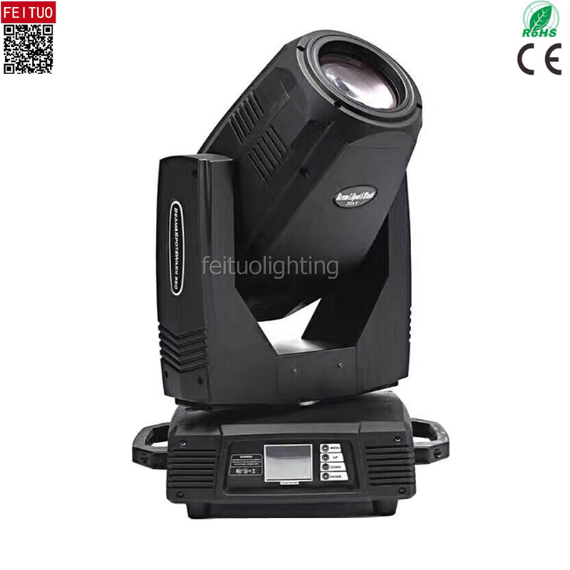 2pcs New Arrival Sharpy 17r Beam Spot Wash 3 IN 1 350w Moving Head Light 16 Facet Rotating Prism+T Prism DMX Lyre 17r Beam Light