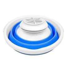 Портативная мини стиральная машина ультразвуковая турбина стиральная машина Складная форма ведра стиральная машина для одежды для дома путешествия