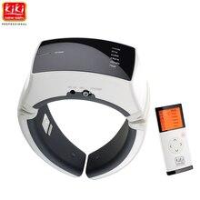 KIKI newgain. Draadloze Afstandsbediening Elektrische puls Hals massager gezondheidszorg product Cervicale therapie instrument massage gereedschap