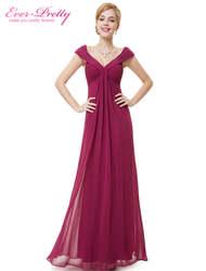[Распродажа] сексуальное вечернее платье Ever Pretty HE08457 v-образный вырез длинное платье вечерние платья винтавечерние платье 2018 женское плюс