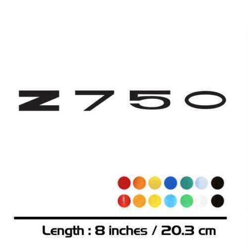 2 X NEW Motorcycle Sticker Bike Fuel Tank Wheels Helmet Fairing Luggage MOTO Accessories Reflective Sign Decal For KAWASAKI Z750