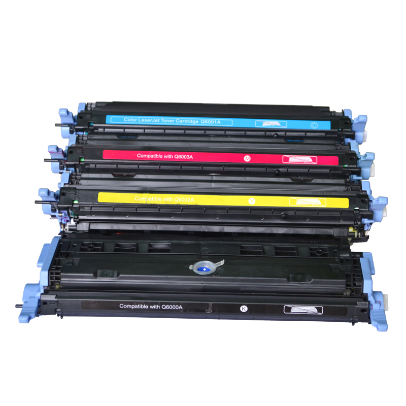 Toner Cartridges For HP CM1015 MFP CM1017 MFP 1600 2600n Refillable Printer Compatible Full Toner Cartridges For CANON LBP-5000 cf283a 83a toner cartridge for hp laesrjet mfp m225 m127fn m125 m127 m201 m202 m226 printer 12 000pages more prints
