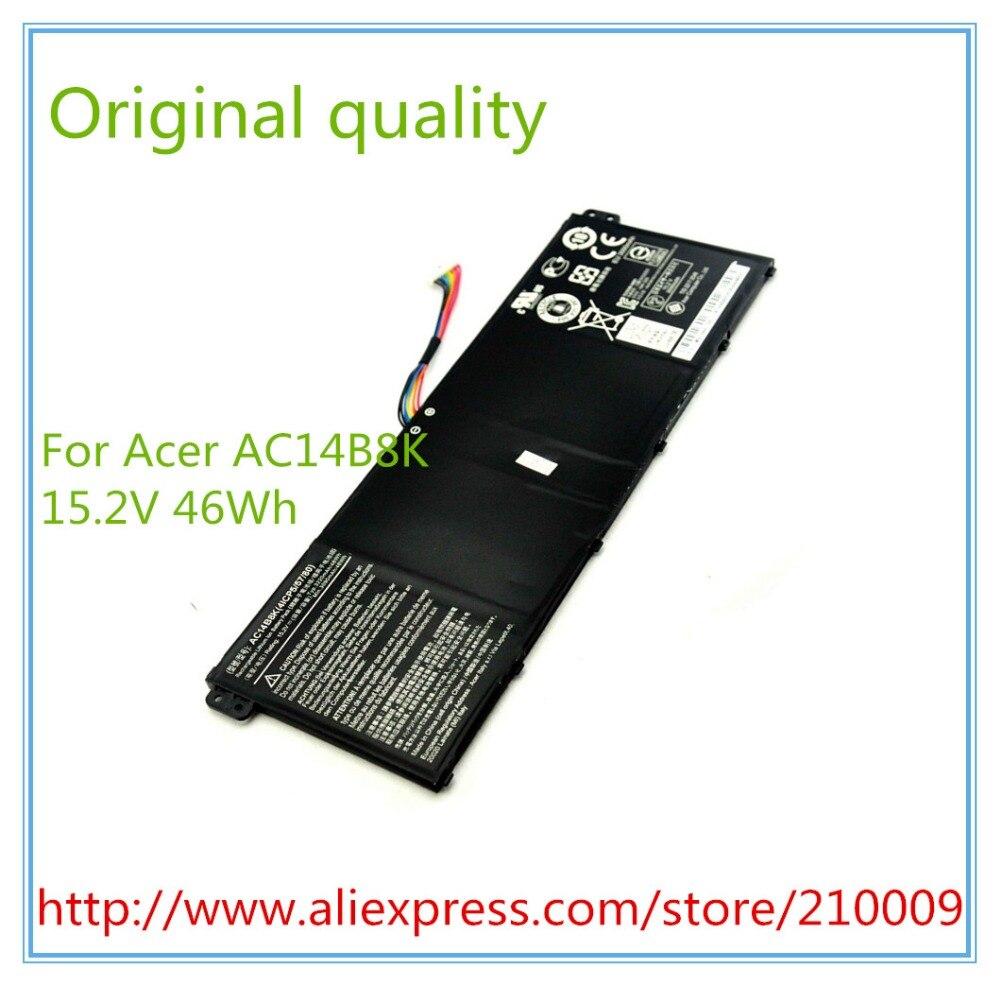 15.2 V 3220 mAh d'origine batterie d'ordinateur portable AC14B8K pour E3-111 E3-112 E3-112M ES1-511 AC14B18J livraison gratuite