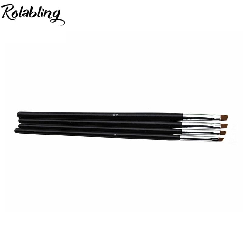 HOTSALE 200SET/LOT Nail Art Design Brush Spiral Gel Pen Tips Tool for nail brush,nail art pen,10 size set baoke pop pen student art advertisement mark pen art design poster pen