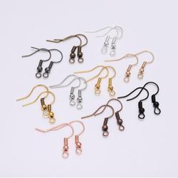 100pcs/lot 20x17mm DIY Earring Wires Earrings Hooks For Jewelry Making Findings Accessories Iron Hook Earwire Jewelry