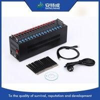 Хорошая цена Wavecom GSM USB 16 портов модемного пула, 16 бассейн gsm модем с СТК перезарядки Q2406B