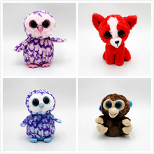 Ty  Cute puppy kitten Owl Monkey Unicorn Plush Toy Doll Stuffed Animals 10 15cm Gifts for children