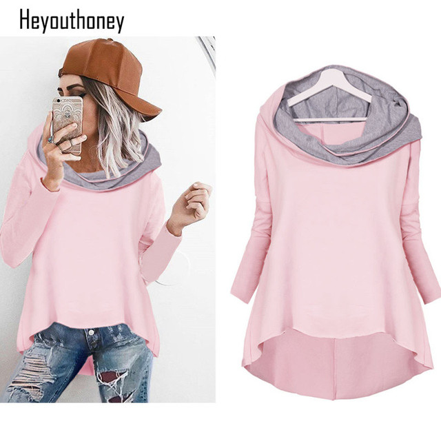 Heyouthoney 2017 New Fashion Hoodies Sweatshirt Pink Harajuku Hoodie ...