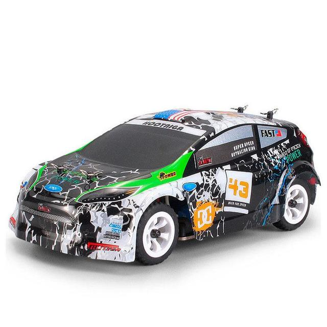 Wltoys K989 1/28 2.4G 4WD Brushed RC Remote Control Rally Car RTR with Transmitter  RC Drift Car Alloy Remote Control Car 1