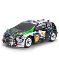 Wltoys K989 1/28 2.4G 4WD Brushed RC Remote Control Rally Car RTR with Transmitter RC Drift Car Alloy Remote Control Car