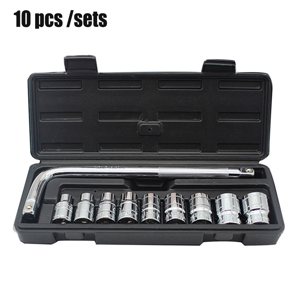 Image 2 - Automobile Motorcycle Car Repair Tool Box Precision Ratchet Wrench Set Sleeve Universal Joint Hardware Tool Kit For CarHand Tool Sets   -