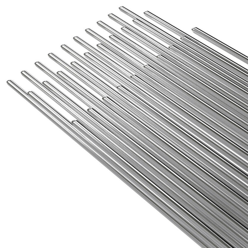 New Easy Aluminum Welding Rods 10/20/50PCS 2mm*50cm Low Temperature Aluminum Solder Rod Welding Wire Flux Cored Soldering Rod