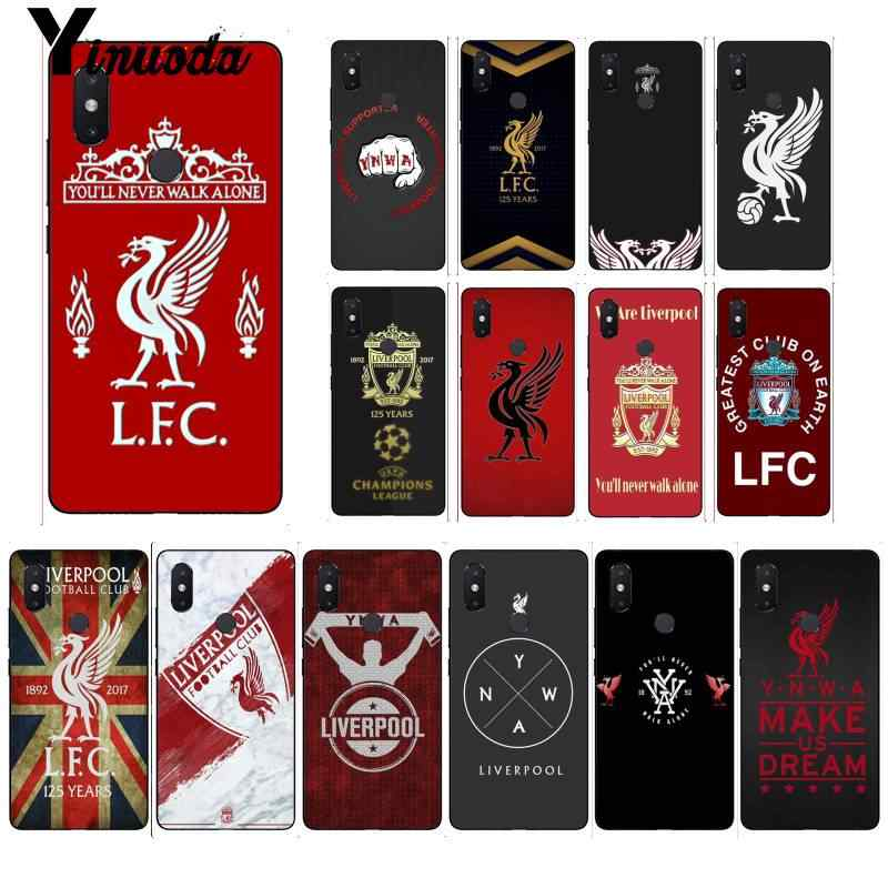 Yinuoda FC Liverpool soccer football Customer TPU Phone Cover for Xiaomi Mi 6 Mix2 Mix2S Note3 8 8lite Redmi 5 note5 Note4 4X