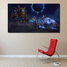 Wow Return To karazh World Of Warcraftes Canvas Painting Prints Bedroom Home Decoration Modern Wall Art Posters Picture