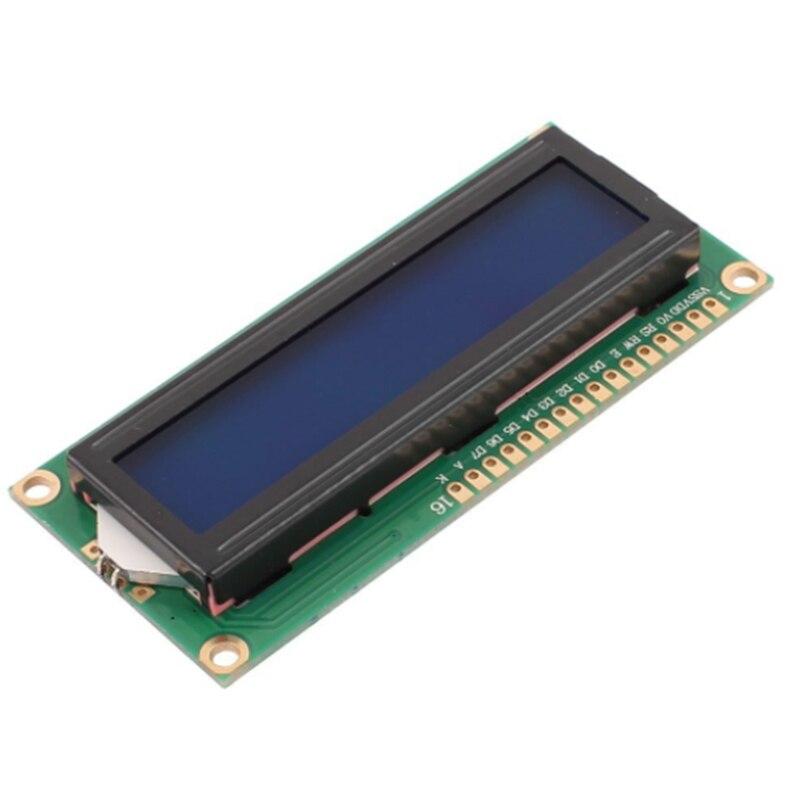 Begeistert Shenzhenmaker Lcd 1602 I2c Für Arduino 5 V 16x2 Blau/grün Charakter Lcd Display Modul Controller Büroelektronik